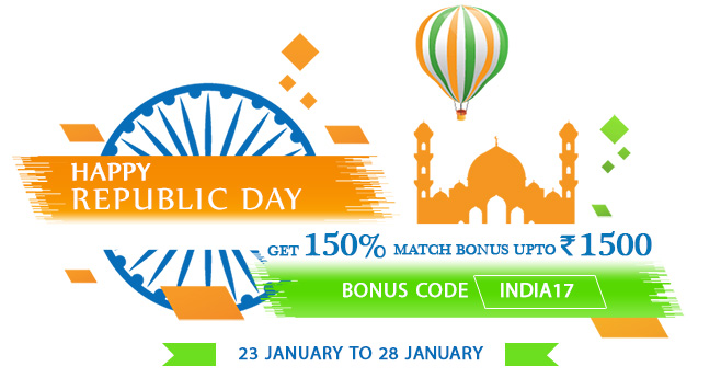 Celebrate Republic Day at RummyPassion!