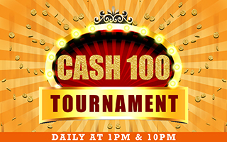 Tournament Cash 100 Win Up to Rs 1800