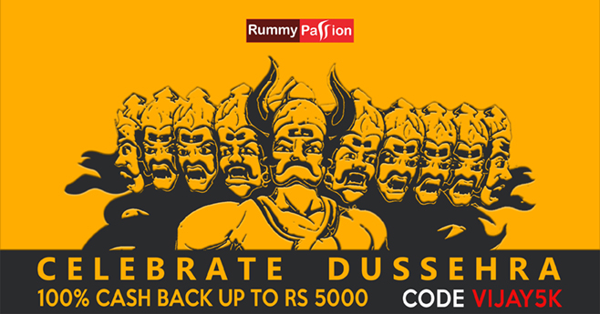 Celebrate Dussehra at Rummy Passion