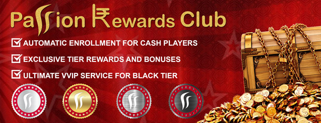 Earn loyalty points and upgrade your Passion Rewards Club Tier