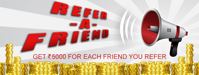 Get Rs 5000 bonus for each friend you refer at Rummy Passion