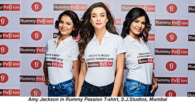 Rummy Passion and Amy Jackson