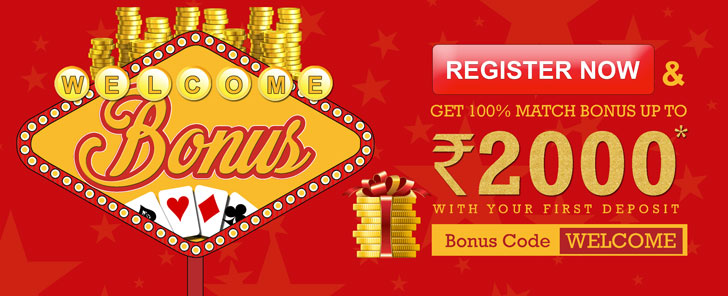 Get Rs 2000 Welcome Bonus at RummyPassion
