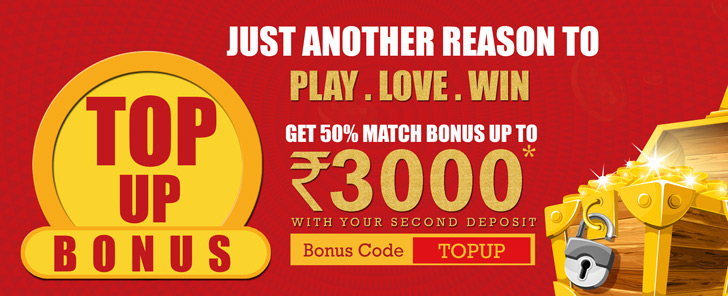 Top Up Bonus of Rs 3000 at RummyPassion