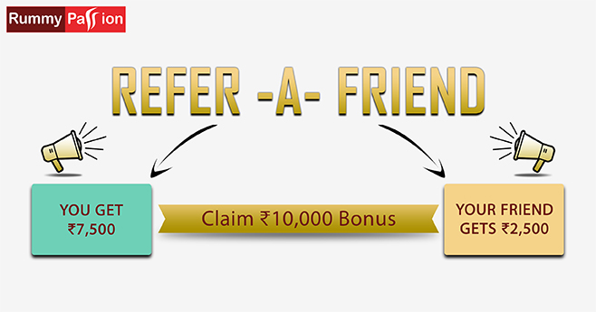 Get RAF Bonus of Rs 10,000  - Refer Your Friends Now!