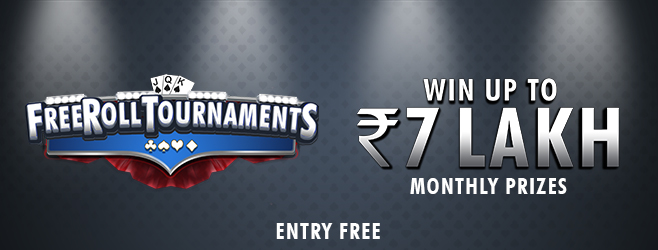 Win up to Rs 7 Lakh in Rummy Tournaments