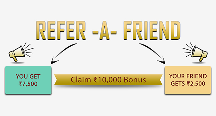 Get RAF Bonus of Rs 10,000 - Refer Your Friends Now