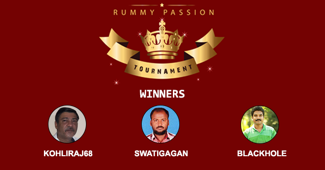Rummy Passion Tournament Winner List
