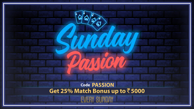 Grab Rs 5000 bonus every Sunday