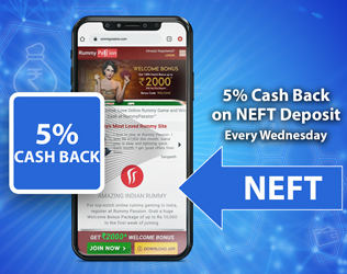 5% cash back upto Rs 5,000 every Wednesday