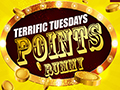 Terrific Tuesdays Cash Bonus on Points Rummy