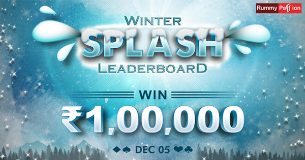 Winter Splash Leaderboard