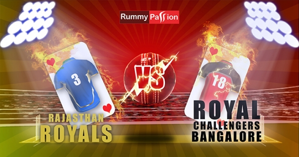 The Royals Strike at the VIVO IPL - RCB vs RR