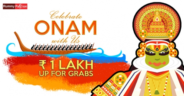 Grab up to Rs 1 Lac this Onam at Rummy Passion