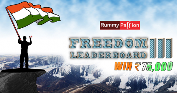 Freedom Leaderboard-III at Rummy Passion