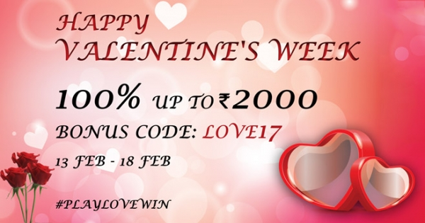 Have You Claimed Our Valentine's Week Bonus Yet?