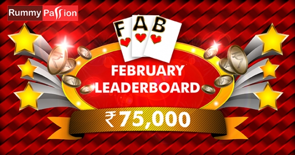 Fabulous February Leaderboard