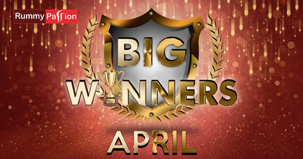 Big Winners in April at Rummy Passion