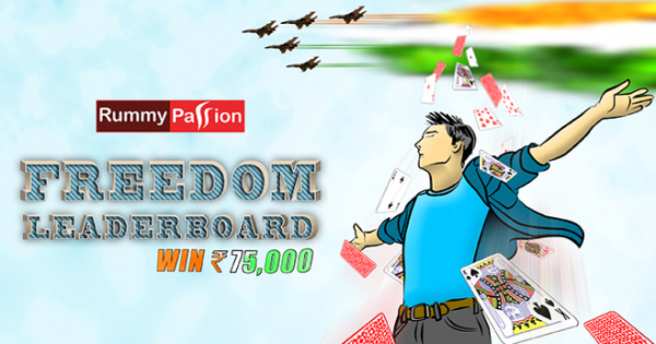 Freedom Leaderboard at Rummy Passion
