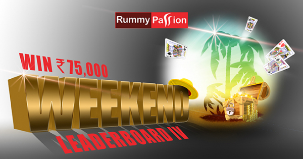 Weekend Leaderboard-IV at Rummy Passion