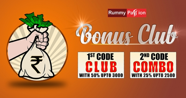 Bonus Club Offer at Rummy Passion