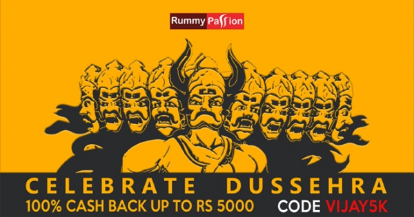 Celebrate Dussehra 2017 with Rummy Passion