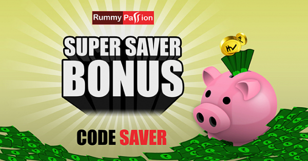Super Saver Bonus at Rummy Passion