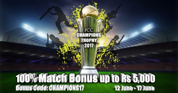Champions Trophy Promotion at Rummy Passion