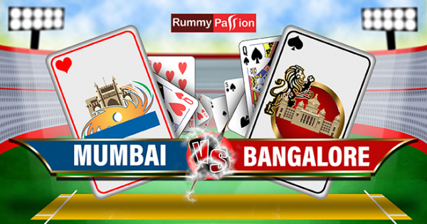 Indian Rummy Fantasy League - Bangalore Vs Mumbai