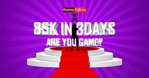 Win Rs 85K in the October Leaderboard at Rummy Passion