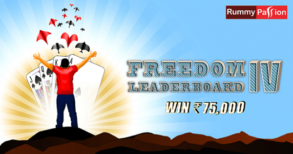 Freedom Leaderboard-IV at Rummy Passion
