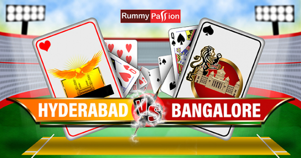 Indian Rummy Fantasy League - Hyderabad Vs Bangalore