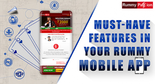 5 Must-Have Features in Your Rummy Mobile App