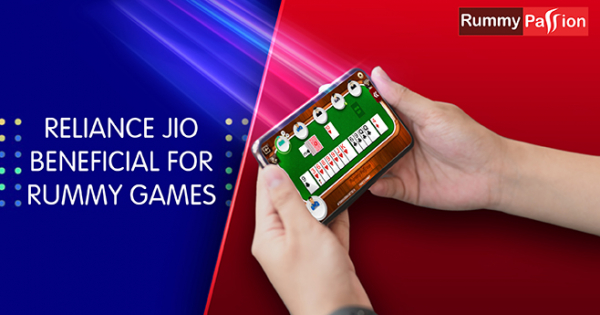 How Reliance Jio Can Be Beneficial For Rummy Games?