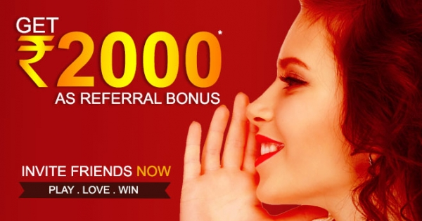 Refer a Friend: Get Rs 2000 From RummyPassion