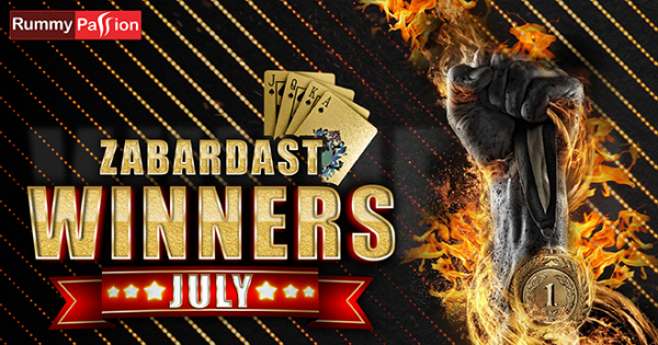 Rummy Passion July 2019 Winners List is Out!