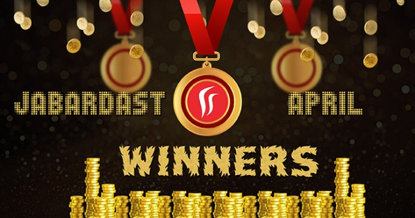 Rummy Leaderboard - Top Ten Winners at Rummy Passion in April 2017