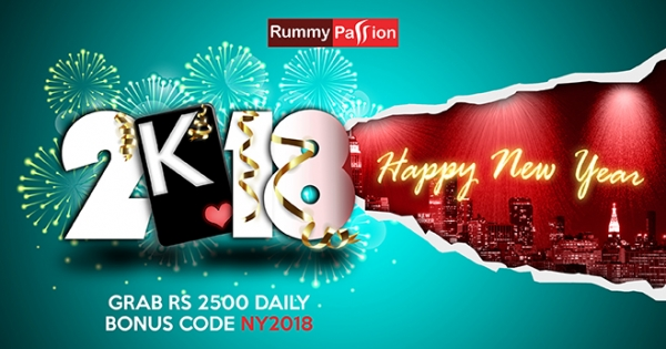 New Year Celebrations at Rummy Passion