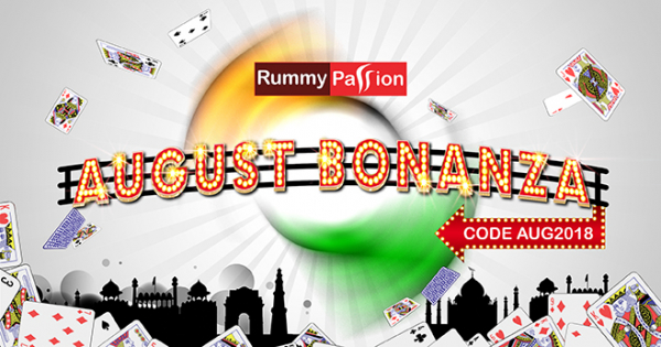 August Bonanza at Rummy Passion