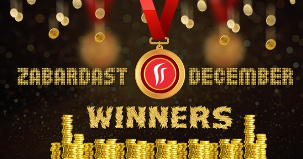 Rummy Leaderboard - Top Ten Winners at Rummy Passion in December
