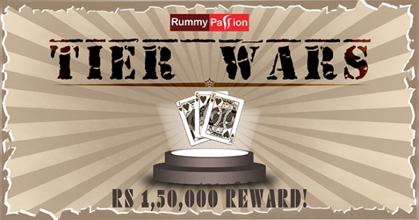 Win Rs 1.5 Lac in Tier Wars at Rummy Passion