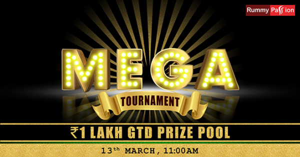 Mega Jackpot 1 Lakh GTD (March 13)