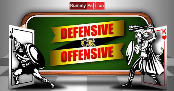 What Pace to Adopt in Online Rummy - Offensive or Defensive?