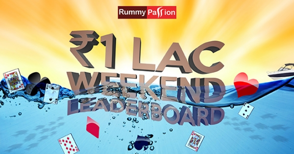 Weekend Leaderboard at Rummy Passion