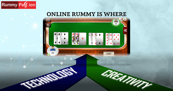 Online Rummy - It's Where Technology Meets Creativity!