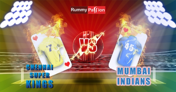 Indian Rummy League – MI vs CSK 7th April 2018 Match