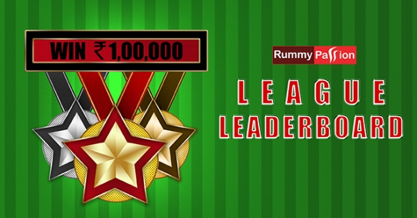 The League Leaderboard at Rummy Passion