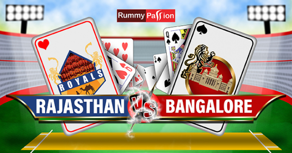 T-20 2nd April - Rajasthan Vs Bangalore