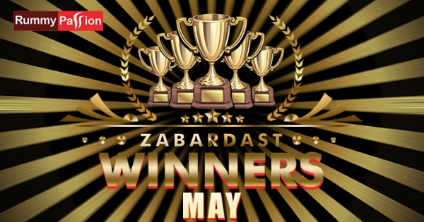 Check Out Who Won at Rummy Passion in May