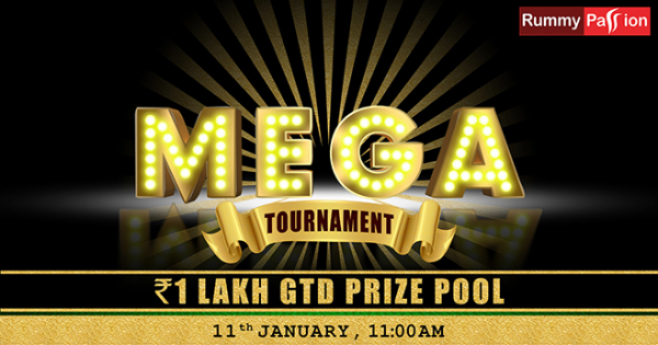 MEGA JACKPOT 1 LAKH GTD 11th Jan 2020